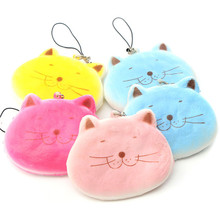 Simulation Mobile Phone Strap 8CM Jumbo Universal Mochi Cat Cute Cartoon Fat Cat Face Bread Bag Charm Colorful Chain Child Toys(China)