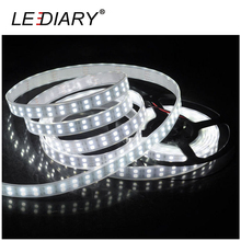 LEDIARY Double Row Casing Pipe IP67 600 LED Strip Light 5050 5M 12V Waterproof Christmas/Party/Wedding Decoration Light