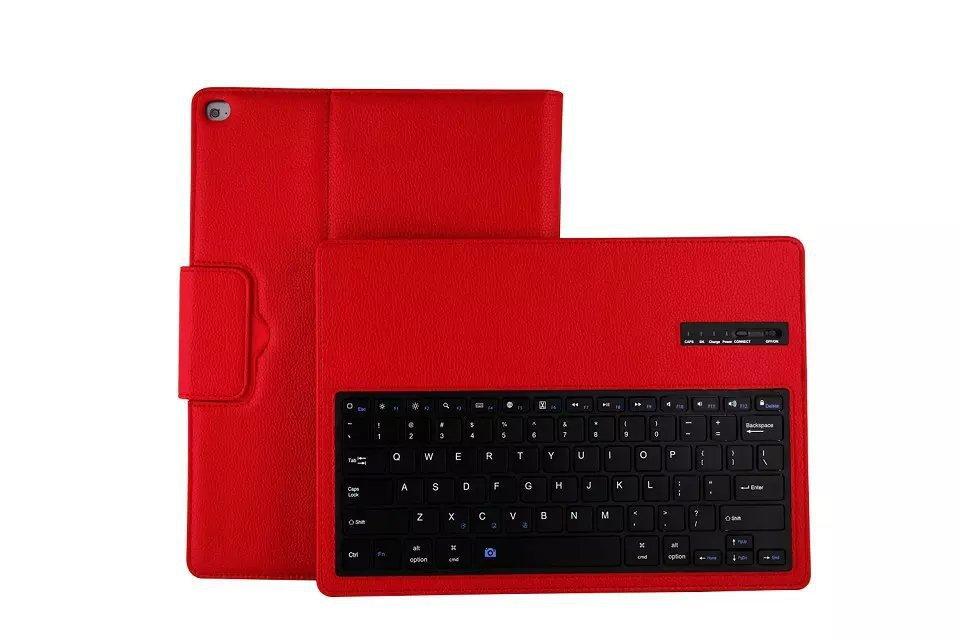 top kids gift cases for iPad pro 12.9 case with Keyboard Wireless Bluetooth teclado Stand leather Protector cover for tablet bag<br><br>Aliexpress
