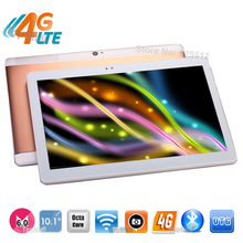 Wholesale Best 10 inch 3G WCDMA 4G FDD LTE Tablet PC Android 6.0 Phablet Octa Core 4G RAM 64GB ROM 8.0MP GPS Tablet 10 10.1+Gift