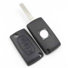 Remote Key Shell For Fiat Scudo Flip Key Fob Case With 3 Buttons Middle Van Sign Plus New Blade Auto Replacement Parts Car Key