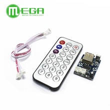 mini micro Lossless music decoder WAV+MP3 Decoding board 12V player USB sound card MP3 board+remote control Integrated Circuits