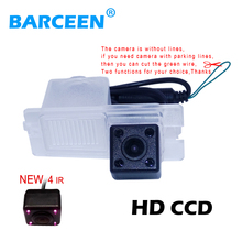 Car reverse rear CCD 170 degree angle Backup Side car Parking Camera adapt forSsangYong Actyon Korando Rexton(China)