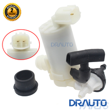 Front Rear Windshield Windscreen Washer pump For Mazda2 Hatchback 2007-2015 & Exhuast Pipe(China)