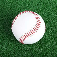 Hot Sale 1 Pcs/set Handmade Baseball Ball Professional 2.75 Inches Outdoor Sports Practice Training Baseball Ball White Softball