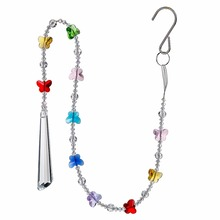 Buy chandelier crystals butterflies and get free shipping on hd crystal chandelier parts prisms hanging pendant colorful butterfly rainbow maker chakra cascade suncatcher weddinghome decor aloadofball Choice Image