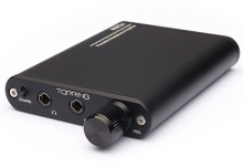 TOPPING NX1A Portable Headphone Amplifier HIFI Stereo Audio Mini size Amp Approx 150h playback time Selectable gain
