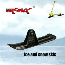 snow sled blade, Ice and snow sled with metal blade at the bottom Skiing accessories Trineo XQ16(China)