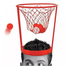Outdoor Fun Kid Toddler Baby Children Head Basketball Hope Game Circle Shot Plastic Basket Parent Child Interactive Toy LA891813