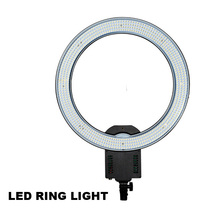 CN-R640 Photography Video Studio 640 LED Continuous Macro Ring Light 5600K Day Lighting LED Light for DSLR Camera Video Photo(China)