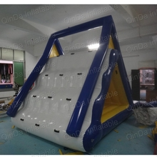 5*2.5*4 meters Inflatable Floating Island Giant Inflatable Water Slide For Adult inflatable water park slide(China)