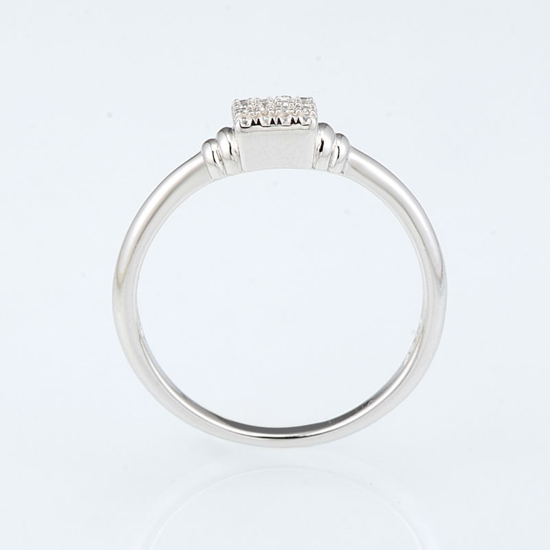 R307091WCZSL925-SV2-Silver Ring