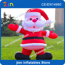 free air shipping,10ft/3m outdooor inflatable santa claus old man,christmas decoration inflatable santa father(China)