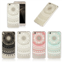 For Huawei P9 Lite 2017 Cases Cover Silicone Clear Mandala Flower Skin Gel Cell Phone Coque Etui Capinhas For Huawei P9Lite 2017