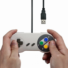 USB GamepadController Gaming Joystick Controller for Nintendo SNES Game pad for Windows PC MAC Computer Control Joystick