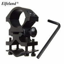High quality 25mm Ring and 20mm Rail Action Tactical Flashlight Laser Torch Streamlight Bracket Mount+Hexangular Spanner(China)