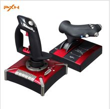 PXN-2119II Game Flight Joystick Flight Simulation Game Rocker Controller Real Dual Vibration For Computer coinoperated Gaming