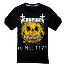 Free shipping Callejon Rapid virus die hard core metal punk T-shirt(China)