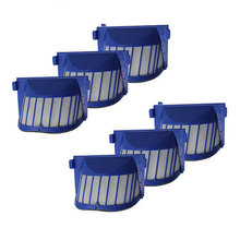 6pcs New Hepa Filter for irobot Roomba 500 600 Series 529 550 56708 595 610 615 620 625 630 650 660 Accessory Wholesale