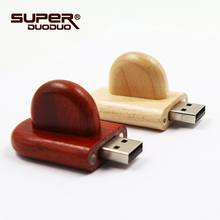 memory stick Newest usb flash drive wooden creative gift pendrive 4GB 8GB 16GB pen drive 32G u disk flash drive(China)