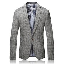 Fashion Suits for Men Jacket Suits Gray Slim Fit Business Casual Brand Non Ironing Thin Section Men Male High Quality Gent Life