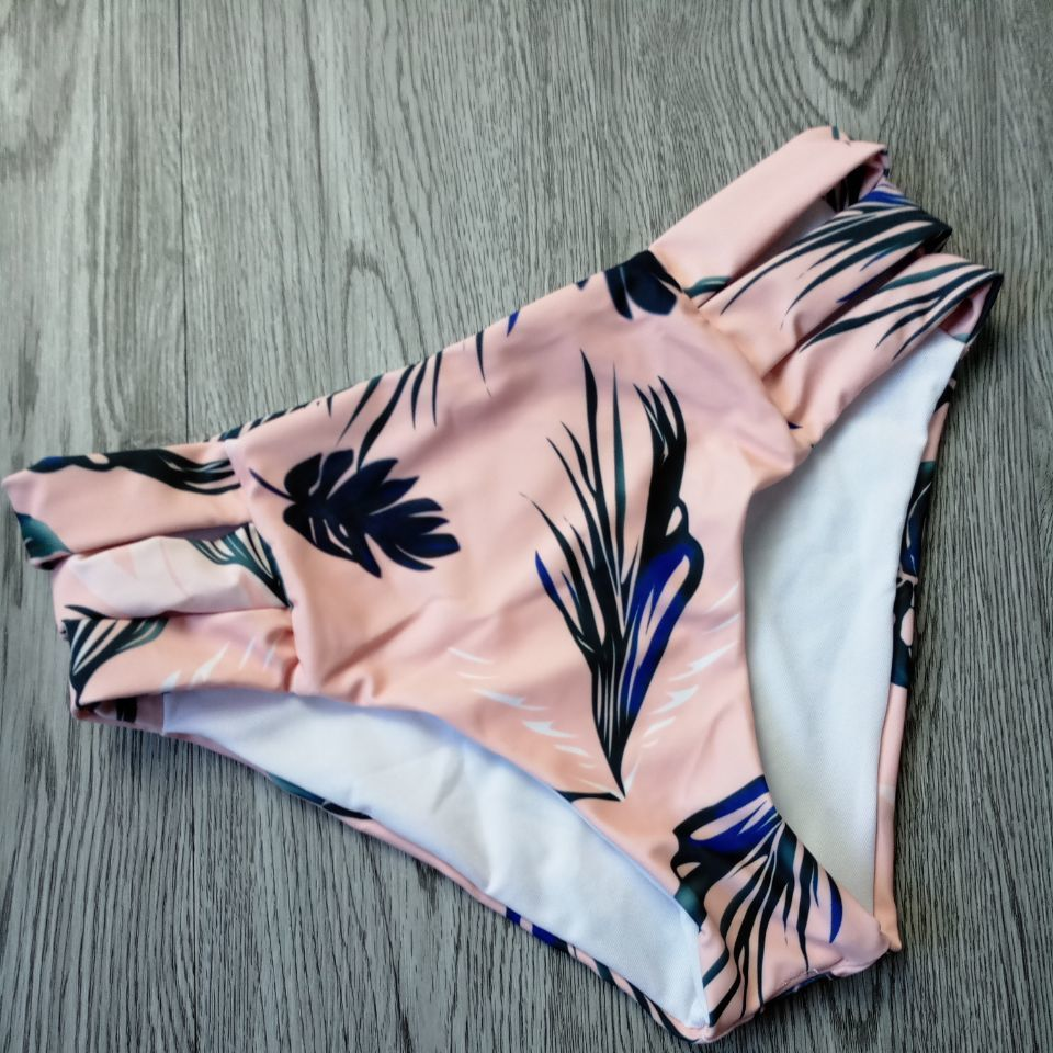 Sexy Two Piece Women's Swimsuit, Cut Out Bathing Suit, Push Up Print Swimwear, Beach Wear With Underwire 28