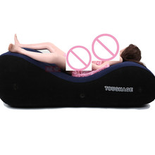 toughage PF3207 Inflatable sofa bed US warehouse shipments sex toys for couples love sex chair pillow adult sex furniture(China)