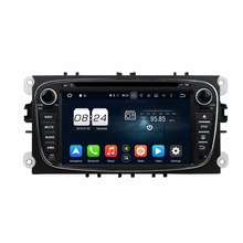 "2GB RAM Octa Core 7"" Android 6.0 Car Audio DVD Player for Ford Focus 2008-2010 With Radio GPS 4G WIFI Bluetooth USB DVR OBD(China)"