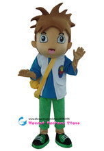 High quality adult size Diego Mascot Costume free shipping  Dora brother