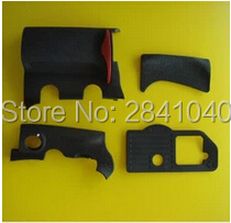 4 pieces For Nikon D300 Rubber Cover Units Complete Grip Rubber Replacement dslr camera Free Shipping !(China)