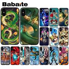 Мягкий силиконовый чехол для телефона Babaite Dragon Ball Super DBS Goku аниме из ТПУ для Apple iPhone 8 7 6 6S Plus X XS MAX 5 5S SE XR(Китай)