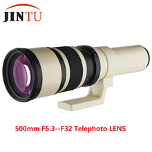 Buy JINTU f/6.3 LD UNC AL Super Telephoto Fixed Prime Manual Lens Canon Camera 700D 650D 600D 550D 500D 60D 70D 1100D 1000D for $159.00 in AliExpress store