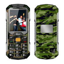 DBEIF C5000 Long standby dual sim card flashlight power bank FM radio loud speaker bluetooth dustproof shock mobile phone P251