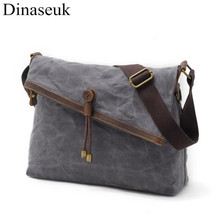 Fold Over Retro Style Men Women Crossbody Bag College Shoulder Bag Vintage Messenger Bags Canvas Brand New Designer Single Bag(China)