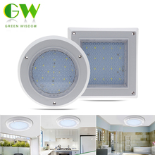 LED Ceiling Lamp Light Water Droplets 10W 18W 22W Surface Mounted Modern Indoor Lighting Square/Round Downlight(China)