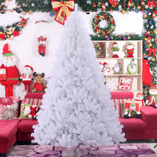3.0 m / 300cm large high-grade white Christmas tree PVC environmentally friendly materials wholesale Christmas decoration