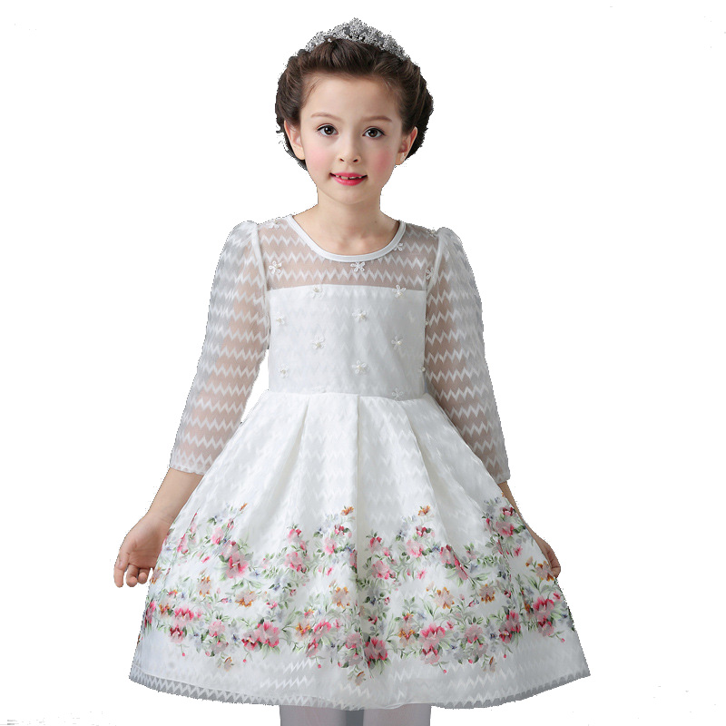 High quality summer baby lace princess dress for girl elegant birthday party dress Baby girls christmas clothes 3 9 10 Age kids<br>