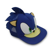 55cm Blue Sonic The Hedgehog action figure toys Cosplay Adjustable Baseball Cap Cartoon Hat Perimeter