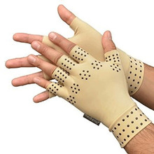 1 Pair Arthritis therapy gloves Relief Arthritis Pressure Pain Heal Joints Magnetic Therapy Gloves Hand Massager