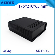 1 piece, 175*210*65mm plastic enclosure electronic instrument housing szomk desktop plastic box for electronics device enclosure