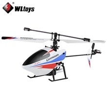 Wltoys RC Helicopters 4CH 2.4GHz Gyroscope Electric Fly Helicopter Outdoor Toys LCD Display Remote Control Flying Helicopter(China)