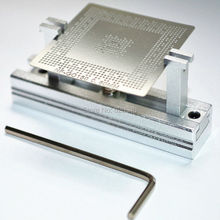 Directly Heated BGA Reballing Station Stencils Holder Template Holder Jig For Direct Heated Stencils with Allen Key