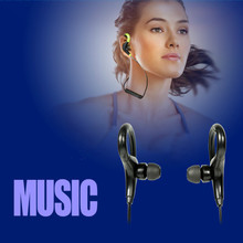 2017 Stereo Ear Hook Bluetooth Earphone Wireless Sport Headphone Headsets With Micphone Handsfree for iPhone Samsung