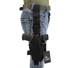 OneTigris Adjustable Drop Leg Holster Tactical Military Airsoft Pistol Gun Thigh Holster for Right Handed Shooters(China)