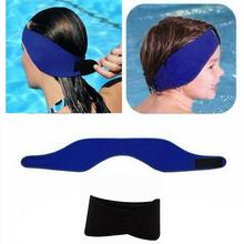 Kids Neoprene Ear Band Head Band Swimming Bathing Protector Cap Wrap Adjustable