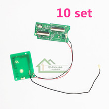 10 set For Nintendo DS NDS Upper LCD Screen Connecting Board Kits with Cable Connector Port Replacement Original Used