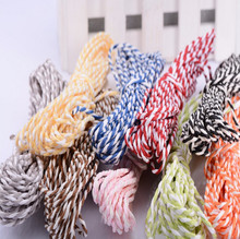 10pcs Raffia Paper Rope Cord Wrap DIY Craft Colorful Paper String Natural Jute Burlap Ribbon Twine Home Decoration Wedding Table(China)