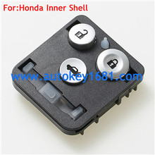 2 Buttons Keyless Entry Remote Key Fob Cover for Honda Accord Fit Odyssey key Inner Shell Case