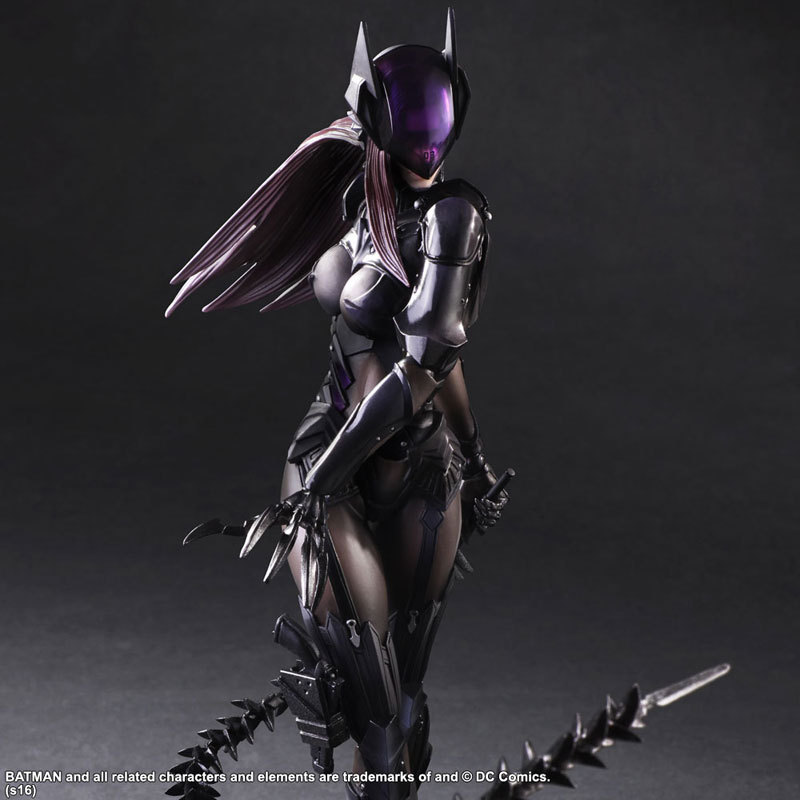 Catwoman Action Figure Playarts Kai Model Anime Toys Movie Bat Man Play Arts Kai Catwoman 260mm<br>
