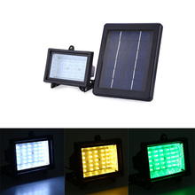New 30 LEDs 2.5W Solar Powered Light Waterproof Spotlight Outdoor Lawn Landscape LED Solar Flood Light Lamp Emergency Lighting